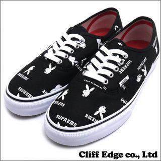 SUPREME x PLAYBOY x VANS AUTHENTIC PRO (sneakers) (shoes