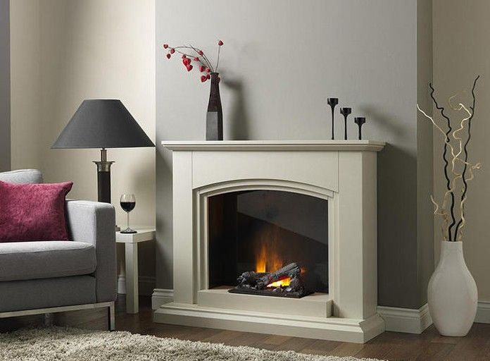 Sierra Dimplex Opti-myst Free Standing Electric Fireplace Suite ...