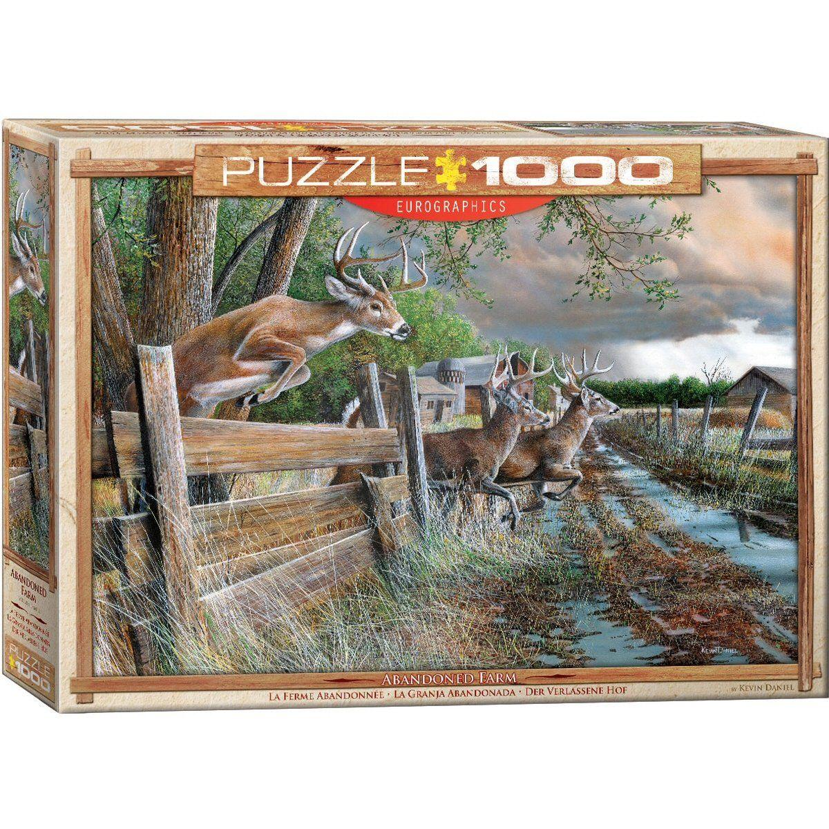 EuroGraphics Double Trouble 1000 Piece Puzzle