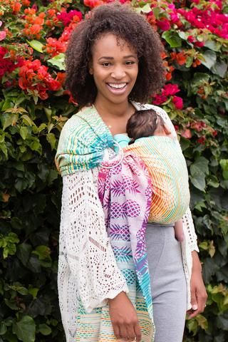 29e10d30de3 Baby Tula s Ananas Athena - Wrap Conversion Ring Sling. Pineapple Baby  Carrier (Pineapple Baby Carrier)