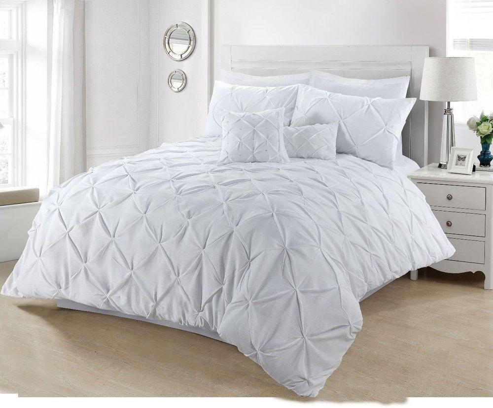 New Modern 100/% Cotton Quilt Duvet Cover Bedding Single Double King Super King