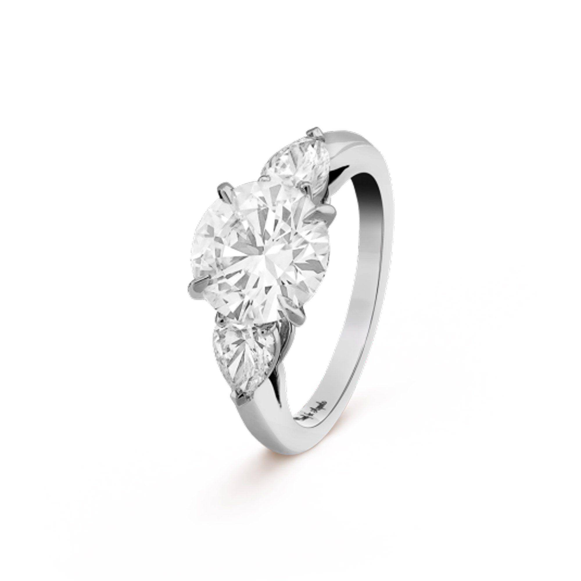 bague solitaire diamant van cleef