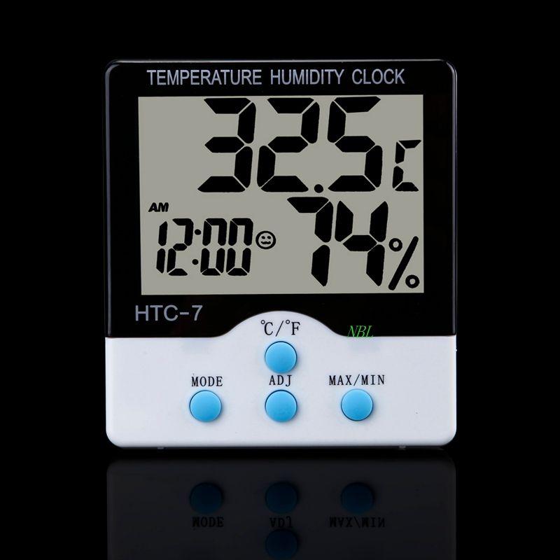 Digitales Thermometer mit Display Min//Max Temperaturanzeige Mini Station