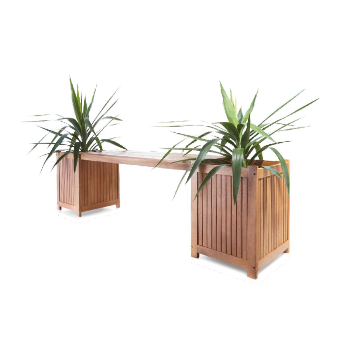 Cool Oasis Bench Seat With Planter Boxes Kmart Renew Vows 21 Machost Co Dining Chair Design Ideas Machostcouk
