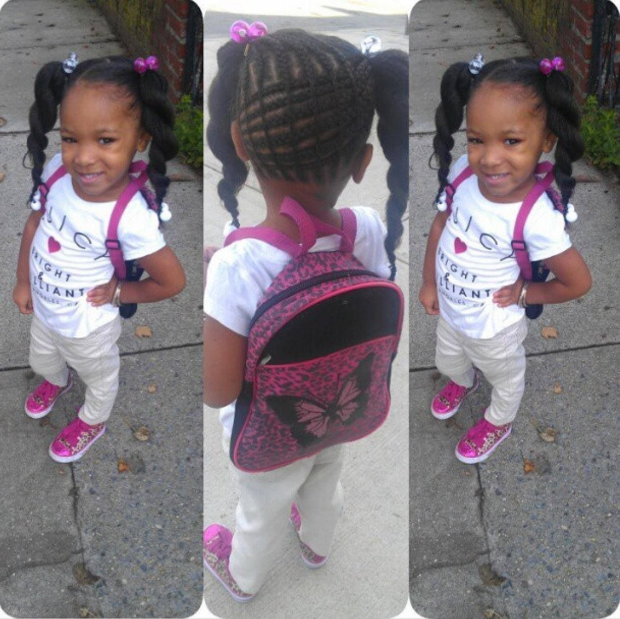 Fantastic 1000 Images About Little Kids Hair Styles On Pinterest Twists Hairstyles For Women Draintrainus