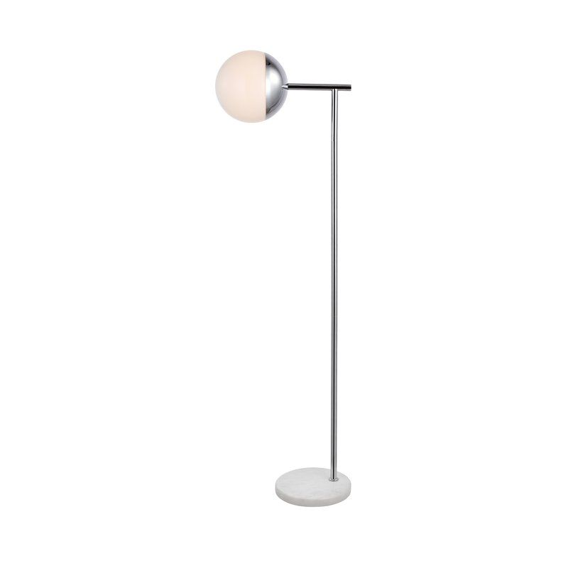 Yearby 1 Light 50 Task Reading Floor Lamp Indoor Floor Lamps Sphere Floor Lamp Metal Lamp Shade
