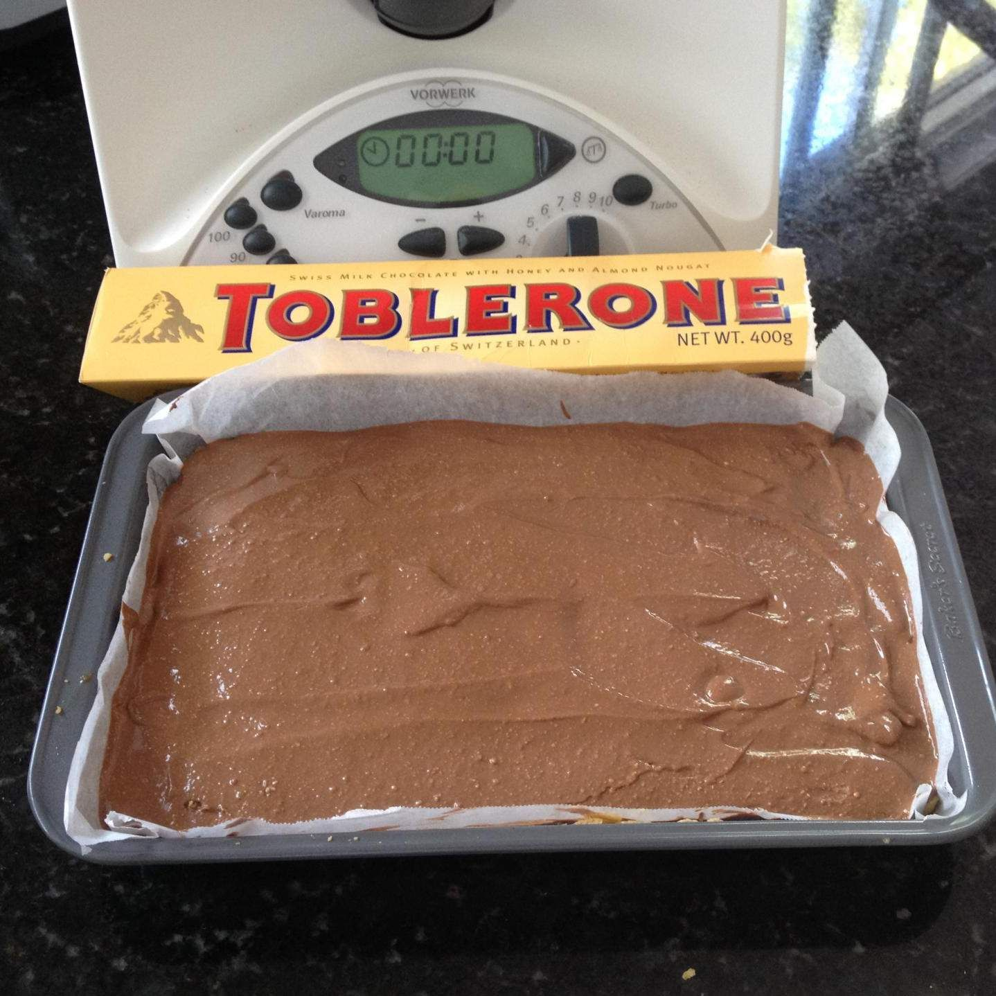 Toblerone Slice   Official Thermomix Recipe Community