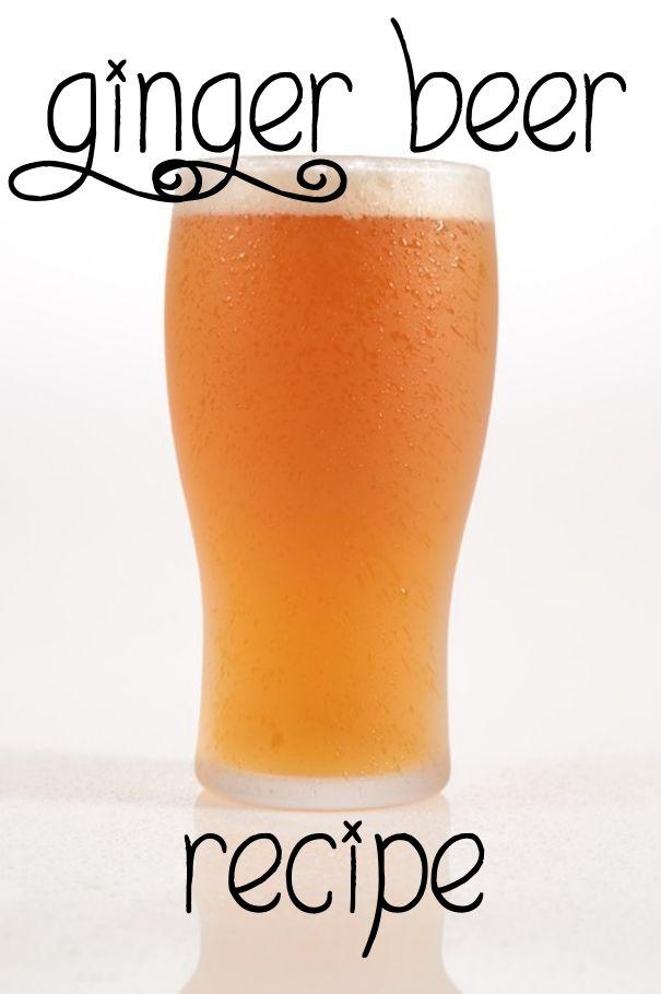 One-Week Ginger Beer