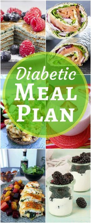 7 -Day Diabetes Meal Plan (with Printable Grocery List)