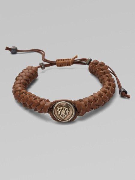 f2e7a2cd4 Mens Gucci WOven bracelet | Fashion en 2019 | Pulseras y brazaletes ...