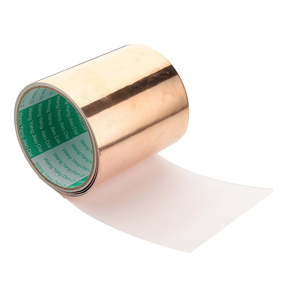 Copper Foil Tape 4 10cm X 10ft 3m 1 Roll Conductive Self Adhesive Shielding Https T Co Rpanlcd7ph Copper Foil Tape Copper Foil Adhesive
