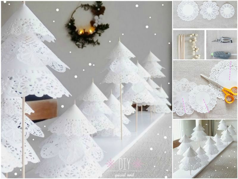 How-to-DIY-Paper-Doily-Christmas-Tree Photography Pinterest