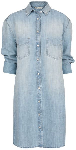 Love this: Denim Shirt Dress MANGO