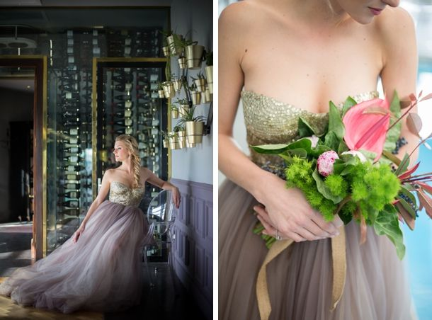 Dreamy Botanical Wedding Inspiration by Nicola Bester