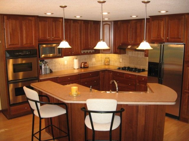 Split entry kitchen remodel eden prairie short sales for Split level home kitchen ideas