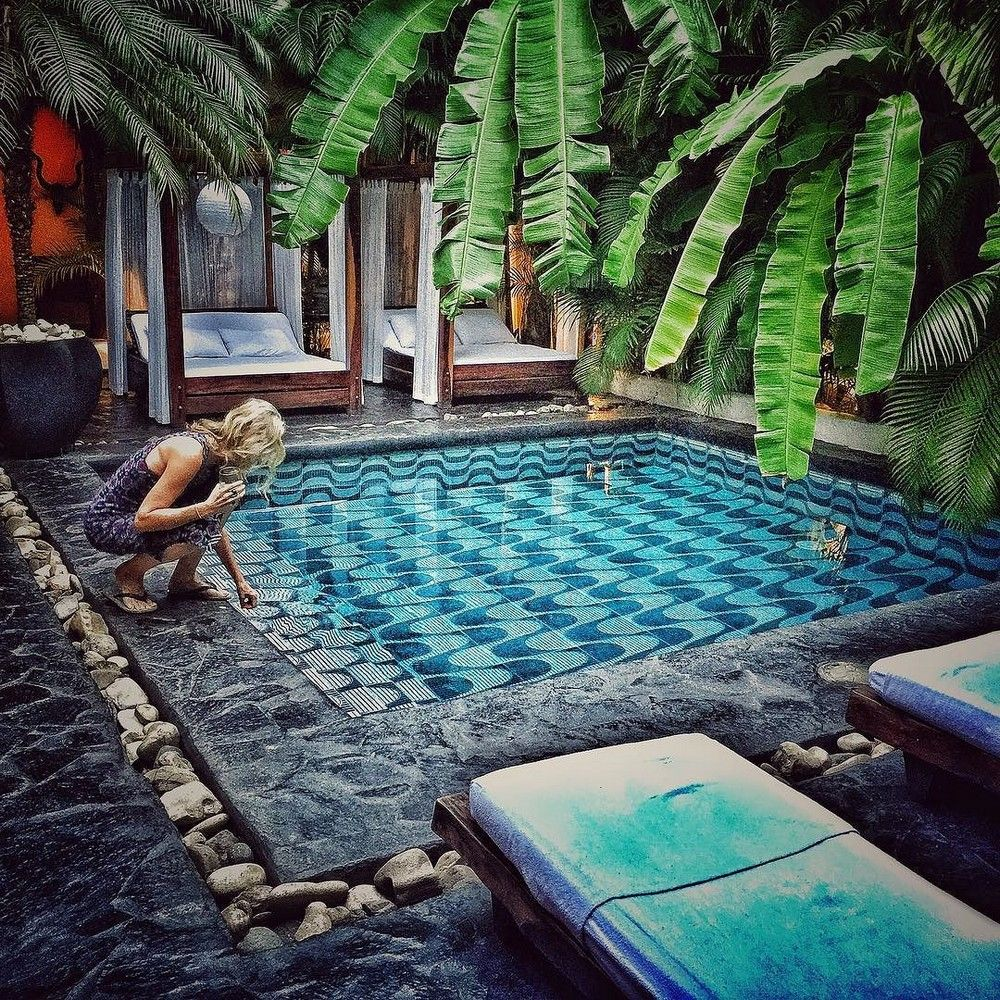 122 awesome tropical home design with mini pool | home design