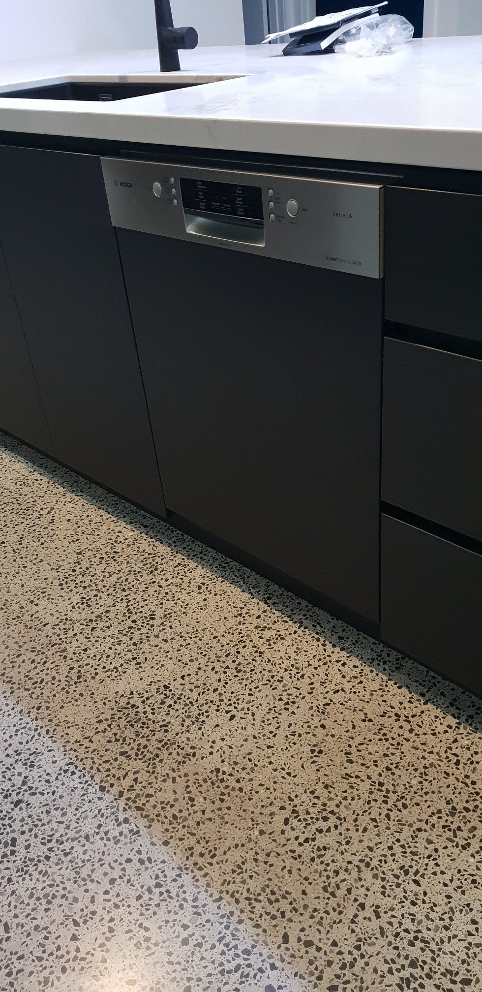Semi Integrated Bosch Dishwasher Smi66 Integrated Dishwasher
