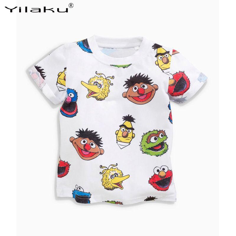 07bb58d05e1a Cool Summer Children T Shirt 2017 New Brand Baby Boy Girl Cartoon Tops Kid Toddler  Short Sleeve T-shirts Unisex Kids Clothing CG261 - $ - Buy it Now!