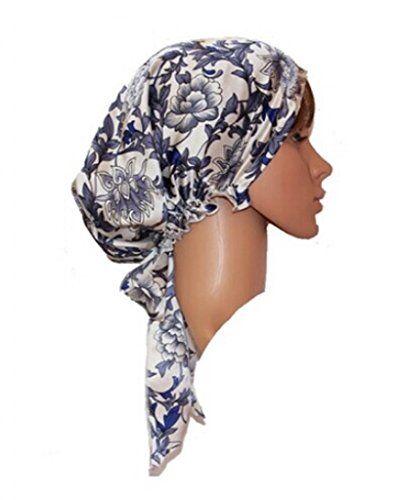 Plumsika Pure Silk Night Sleep Cap Sleeping Beanie Hat Cap