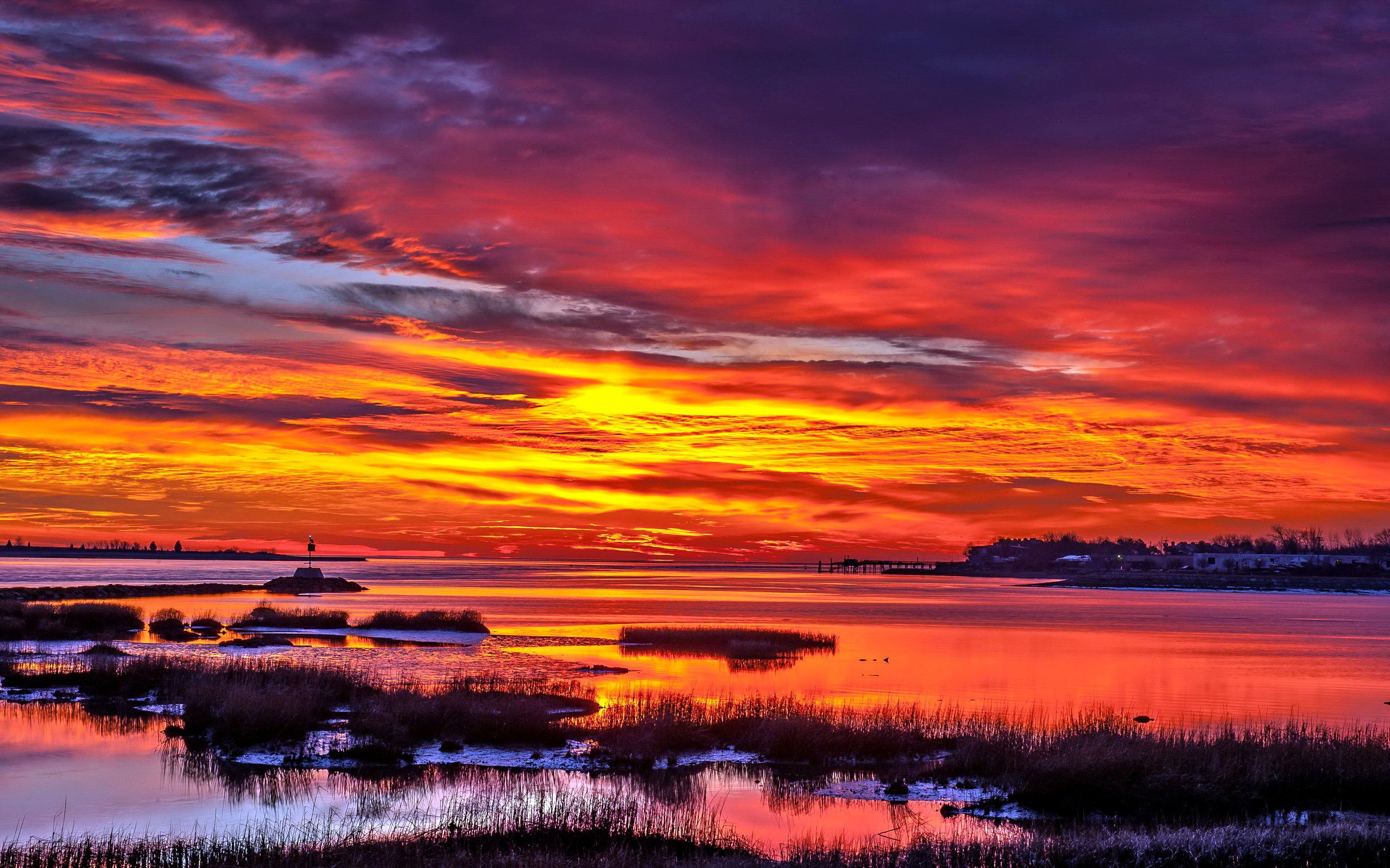 2560x1600 Beautiful Sunset Wallpaper Hd Wallpapers