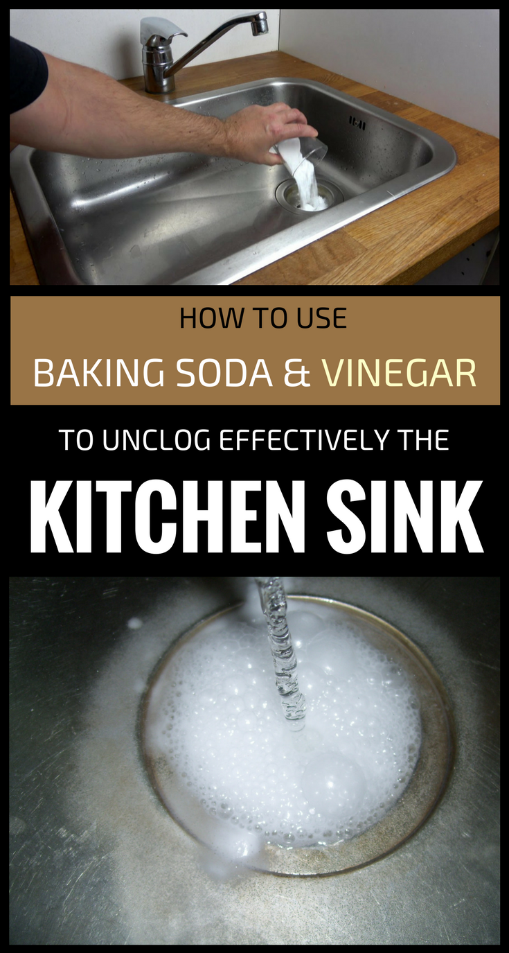 How To Use Baking Soda And Vinegar To Unclog Effectively The Kitchen Sink Bakingsoda Vinegar Unclog Kitchen Sin Unclog Sink Unclog Sink Drain Unclog Drain