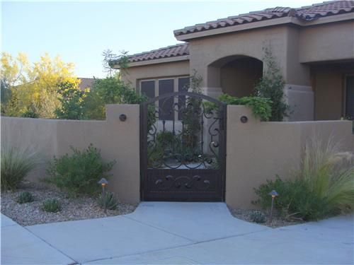 Gates And Fencing Casa Serena Landscape Designs Llc Tucson