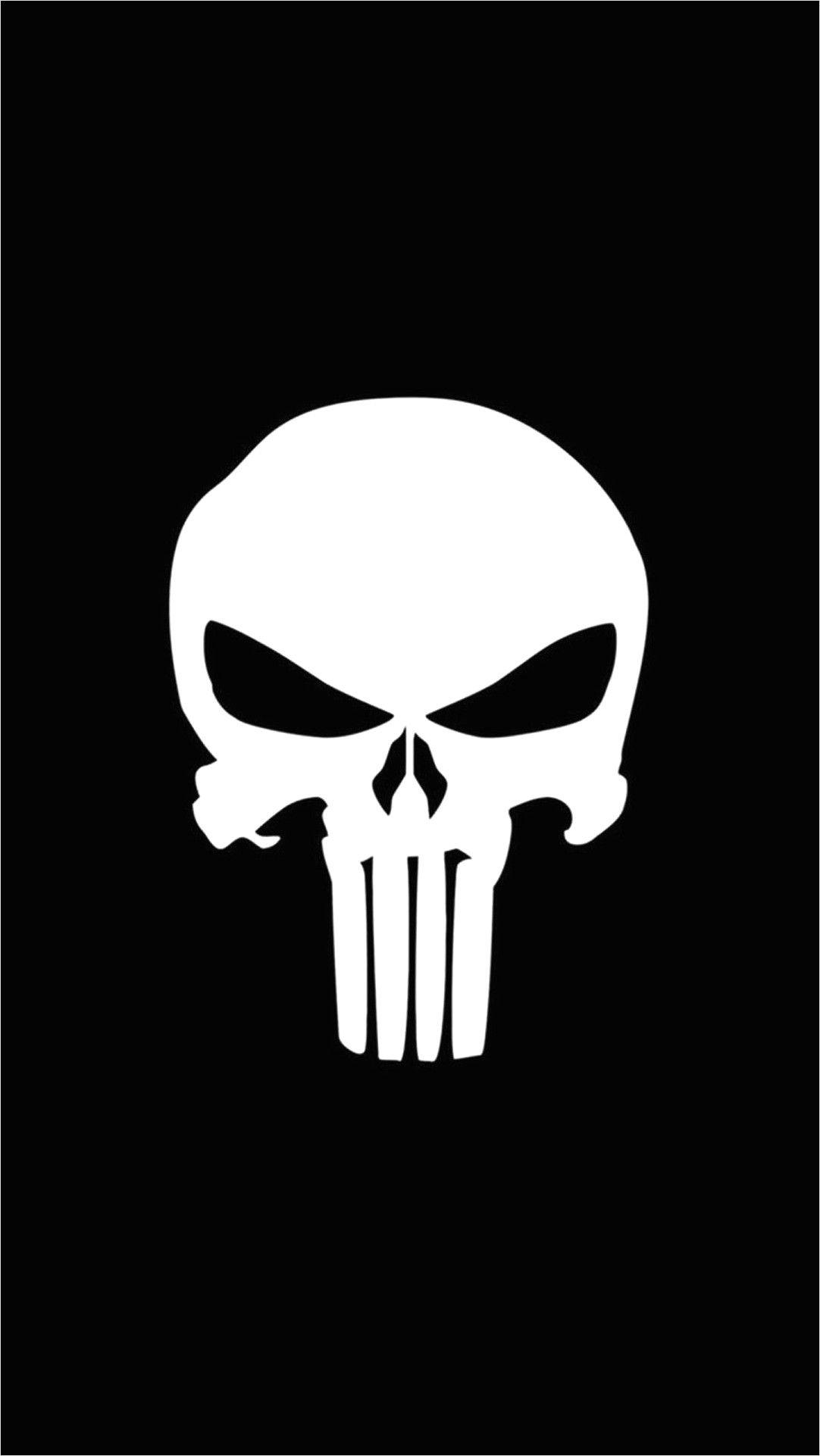 1080 X 1920 4k Wallpapers Skull in 2020 Punisher logo