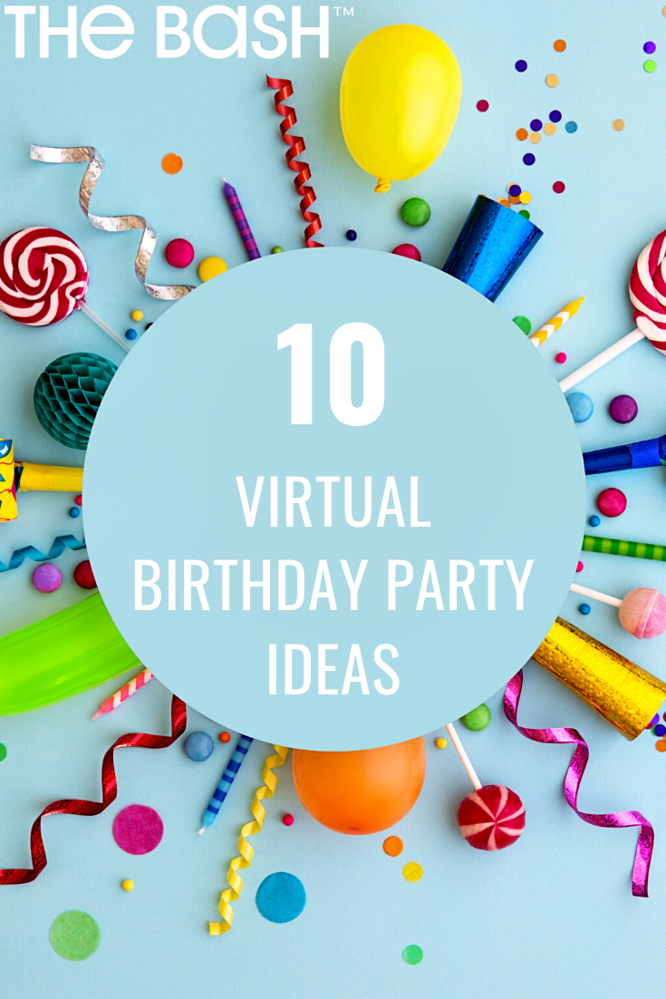 Pin on Virtual Party Ideas + Tips