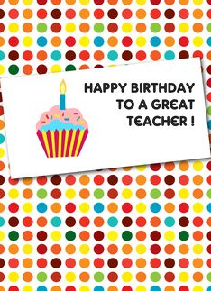 Happy birthday cards for teacher greeting card my favorite happy birthday cards for teacher greeting card m4hsunfo