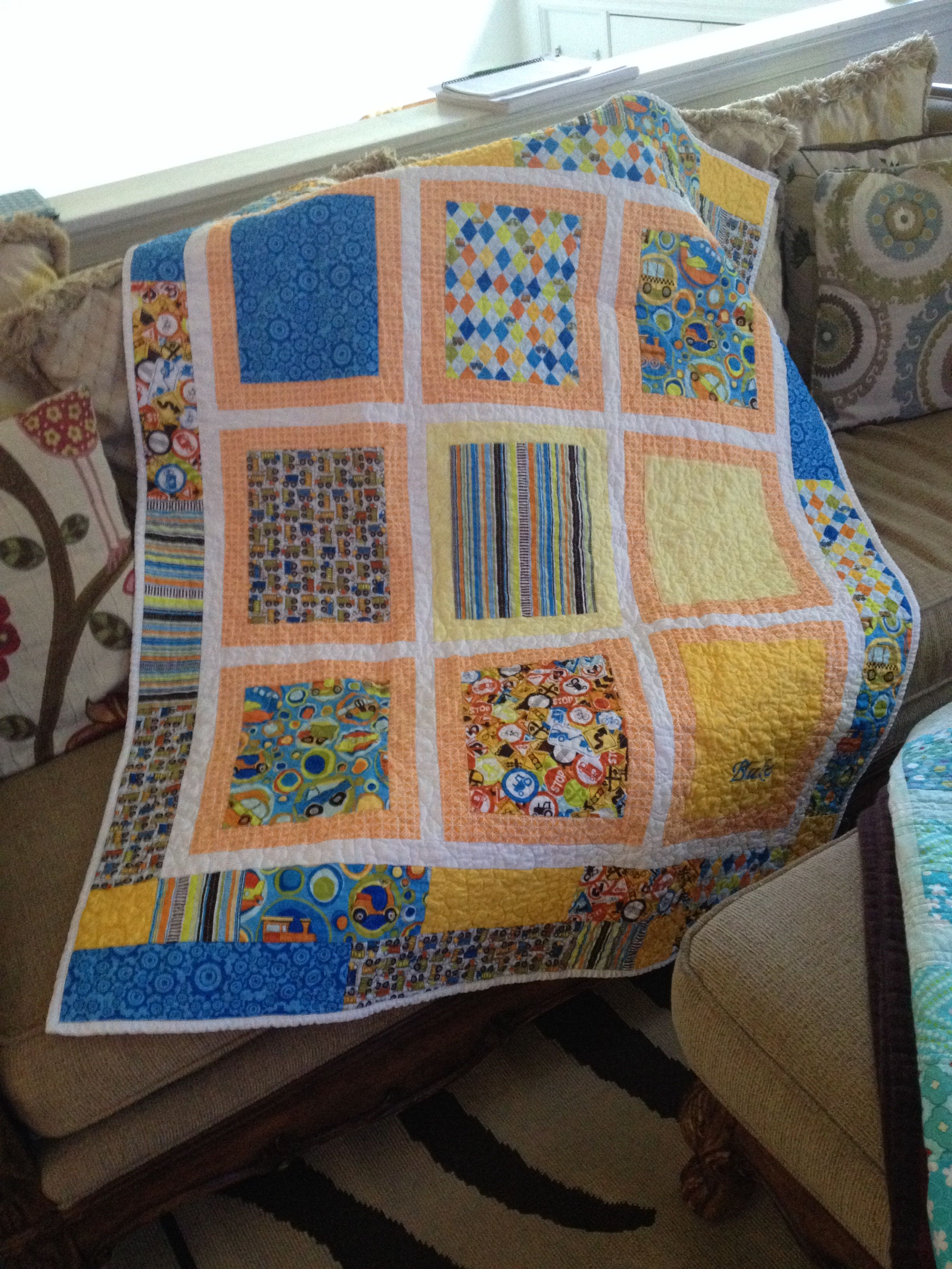 Planes, trains and automobiles! (With images) Quilts