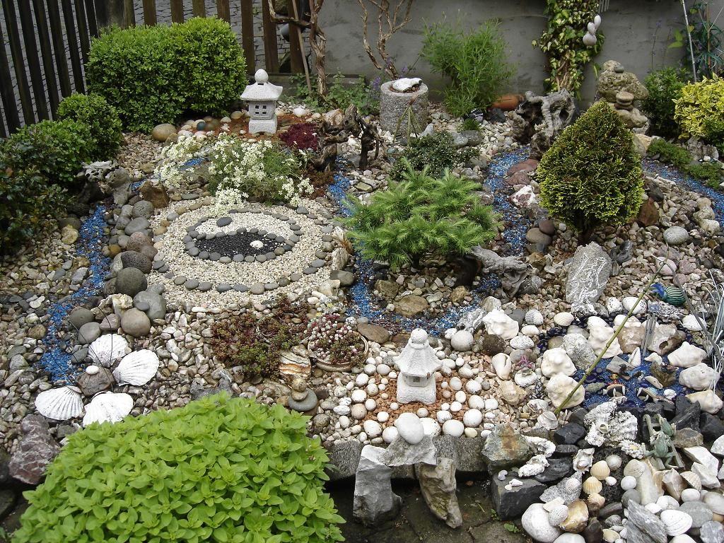mein miniatur feng shui steingarten zu hause bilder und fotos ...