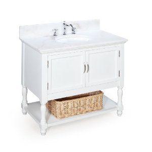 Beverly 36 Inch Bathroom Vanity White