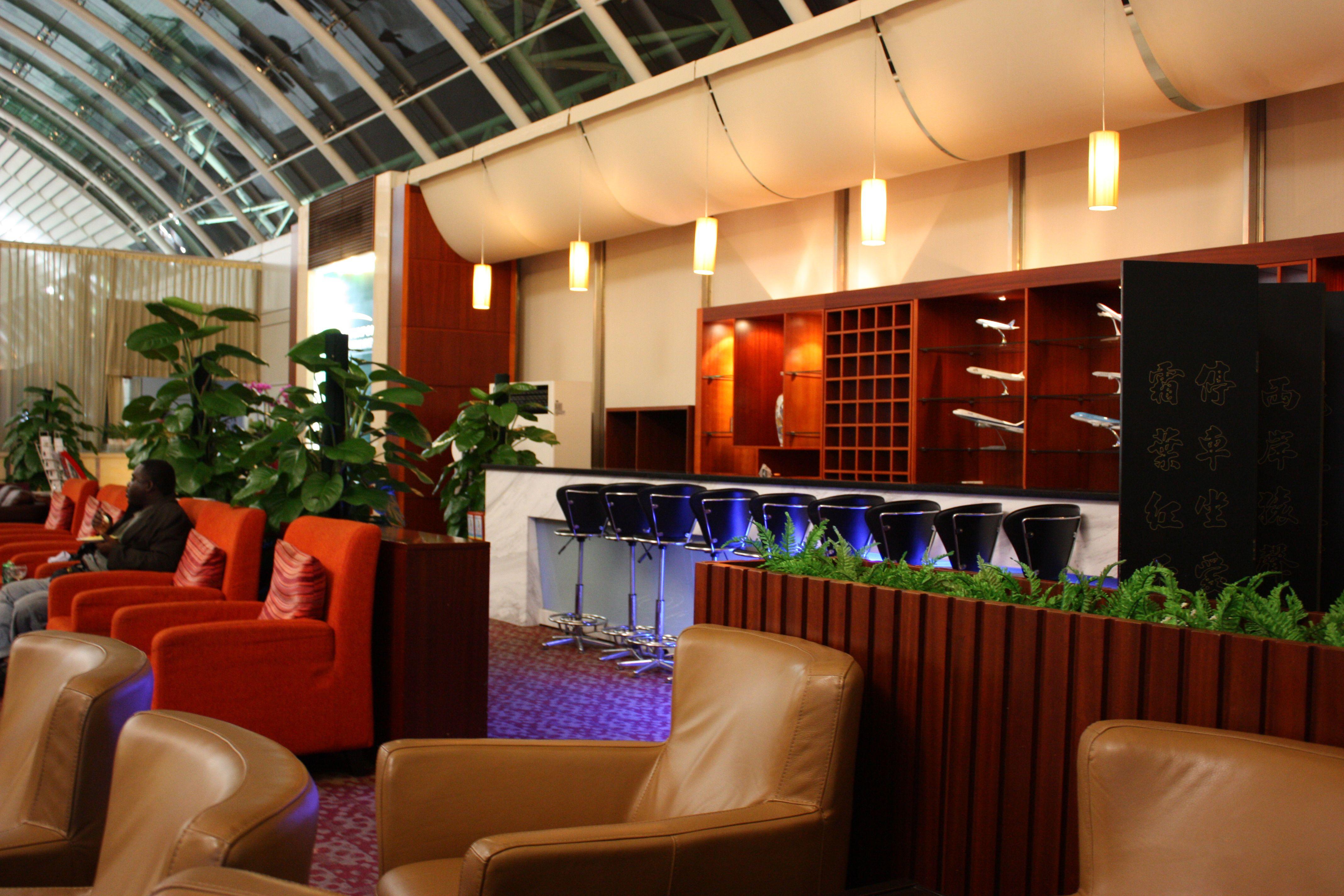 The great First Class Lounge at China Guangzhou - Baiyun ...