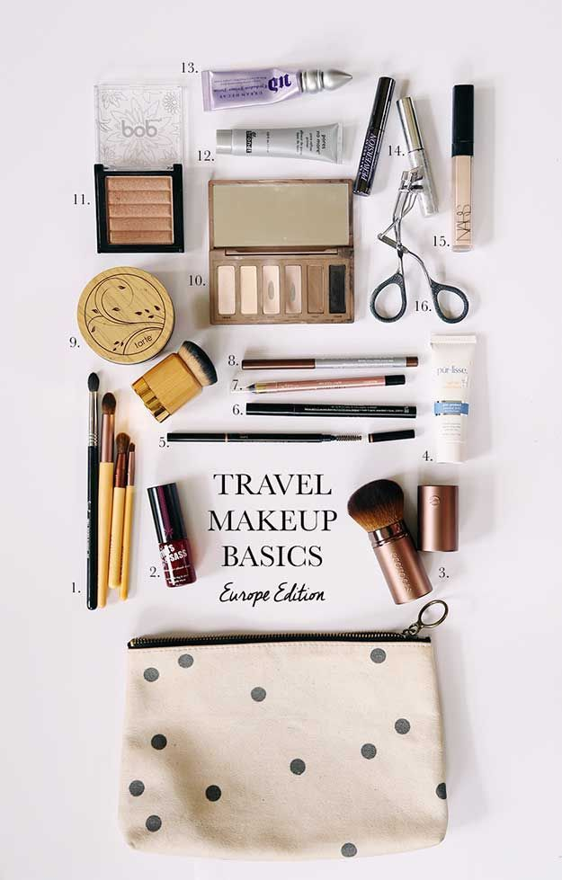 31 Genius Makeup Tips for Travelers #makeuptips
