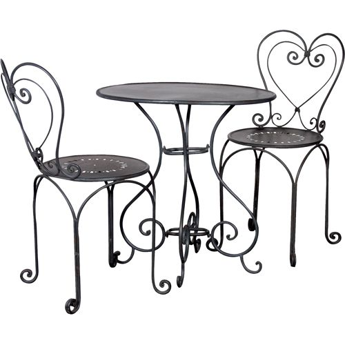 Cute cafe bistro set for the home Muebles, Sillas y