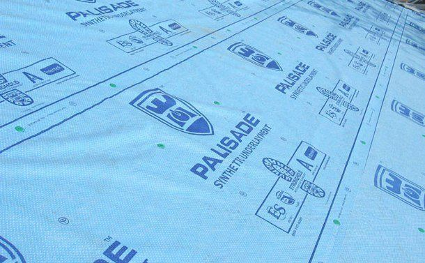 Palisade Synthetic Underlayment Is Tear Resistant And Easy To Install With 1000 Square Feet Per Roll It Takes Fewer Rolls P Underlayment Palisades Synthetic