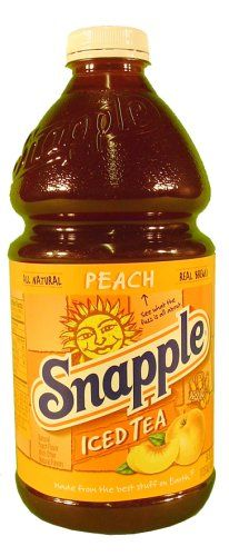 Snapple All Natural Peach Tea Want To Know More Click On The Image This Is An Affiliate Link And I Receive A Commission Peach Tea Healthy Drinks Snapple