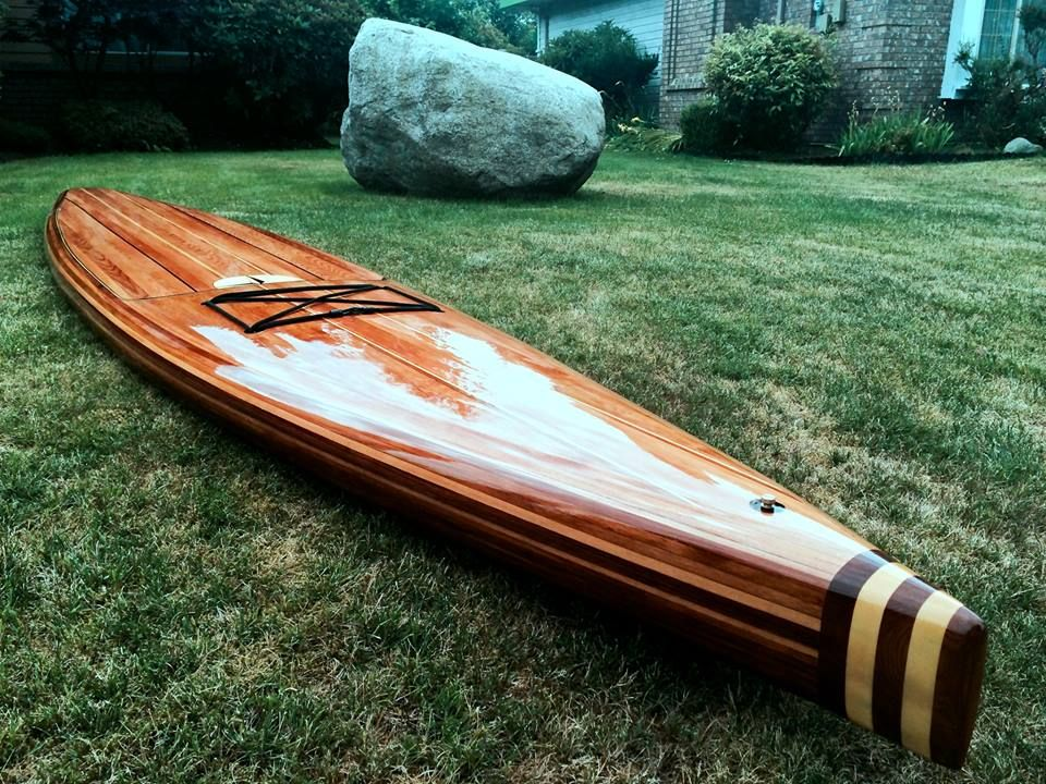 Wood Surfboard Supply Clearwater Sup Builder Rod Tait