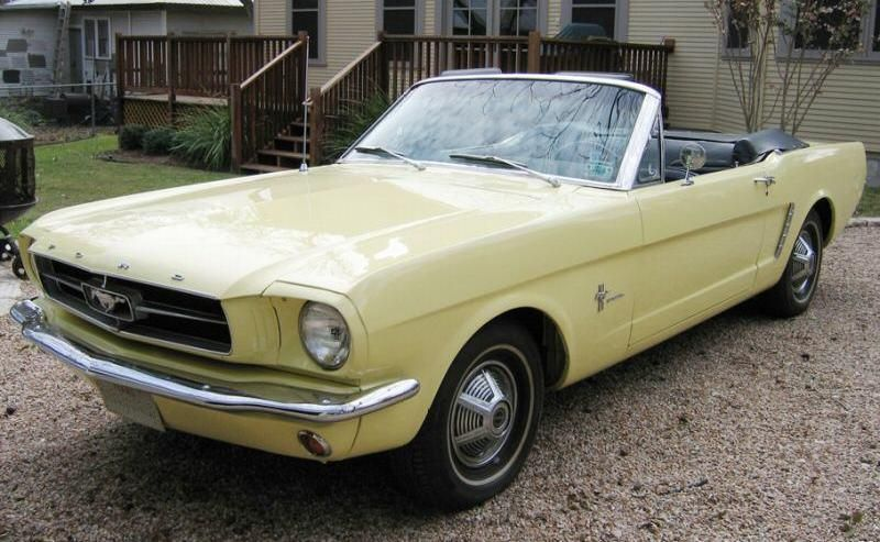 I Would Look So Good In This Car Mustang Convertible 1965 Mustang Convertible Yellow Mustang