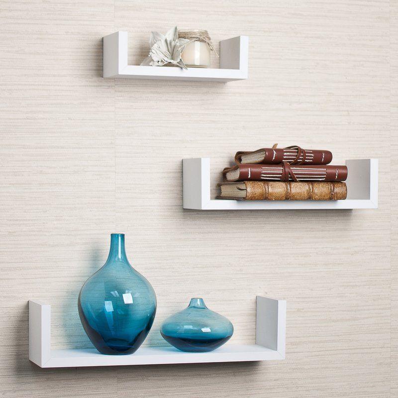 Wickes 3 Piece Floating Shelf Set Floating Shelves Diy Floating Shelves Bathroom Wall Shelves