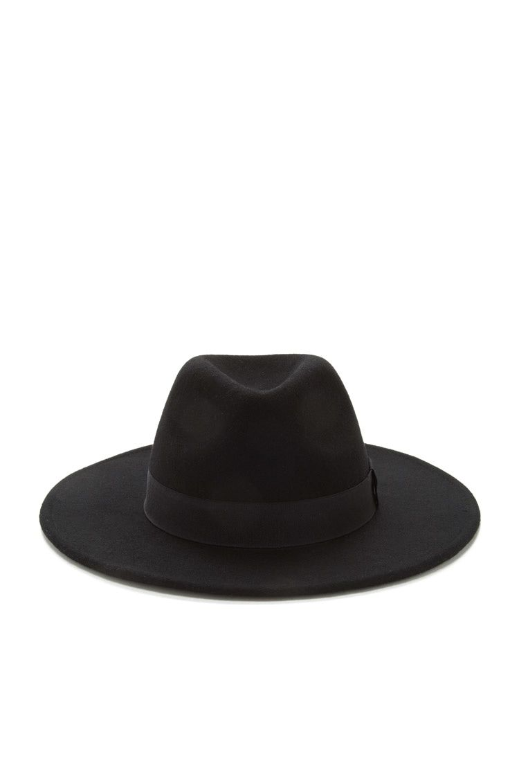 2f8a73a4e8267 Wool Wide-Brim Fedora - Accessories - Hats - 2000220998 - Forever 21 ...