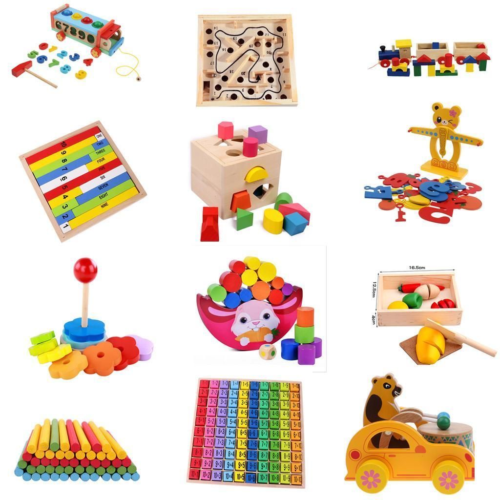 Other Educational Toys Ebay Toys Games Educational Toys For Kids Montessori Educational Toys Wooden Toy Gift