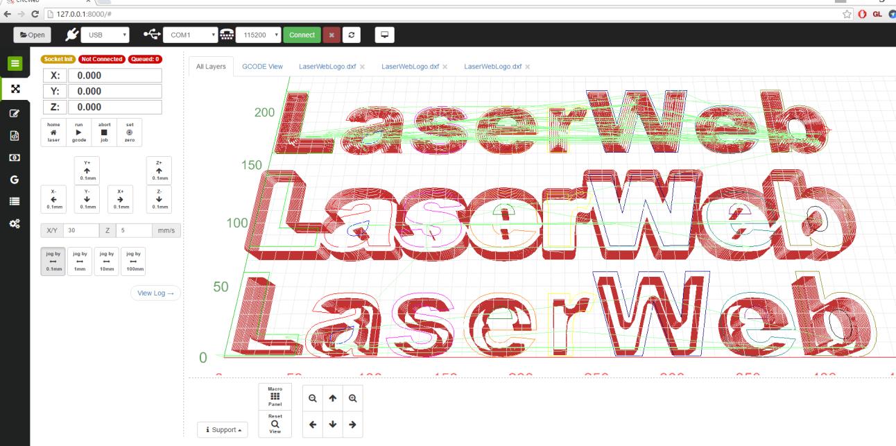 Open-Source Laser Cutter Software Gets Major Update, New Features