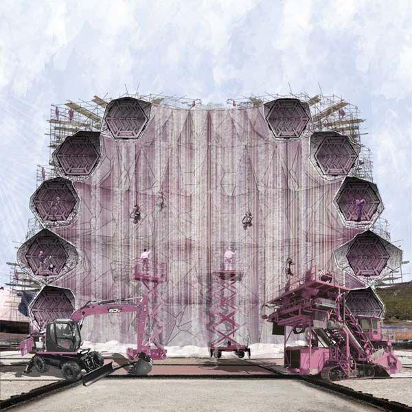 Gentil Halite Delight, AA, Architectural Association School Of Architecture,  London, Reem Nasir,