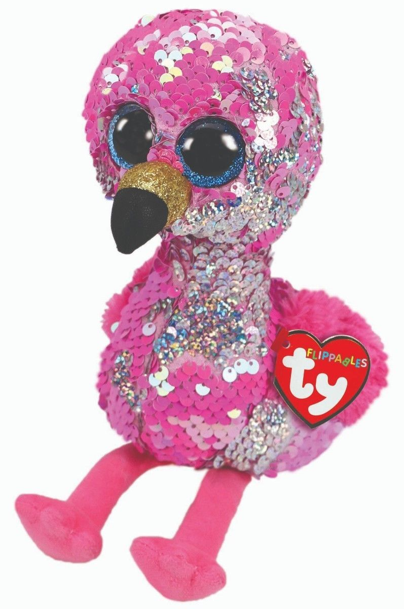 5d58139e18a Ty 19203  Ty Sequins Flippables Beanie Boos 6 Pinky Mwmt 2018 -  BUY IT NOW  ONLY   15 on  eBay  sequins  flippables  beanie  pinky