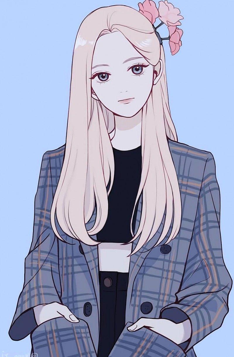 Cute And Fresh Style Mobile Wallpaper Super Nice Phone Wallpaper Lovely Girls Like In 2020 Girls Cartoon Art Anime Art Girl Girly Art
