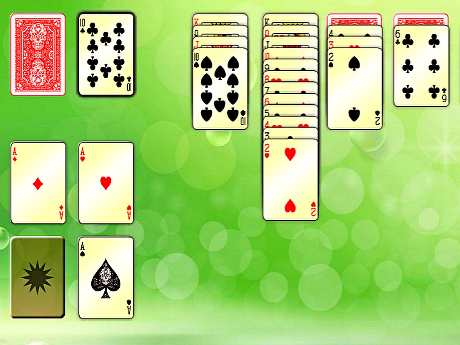 Web Solitaire Game in 2020 Solitaire games, Puzzle