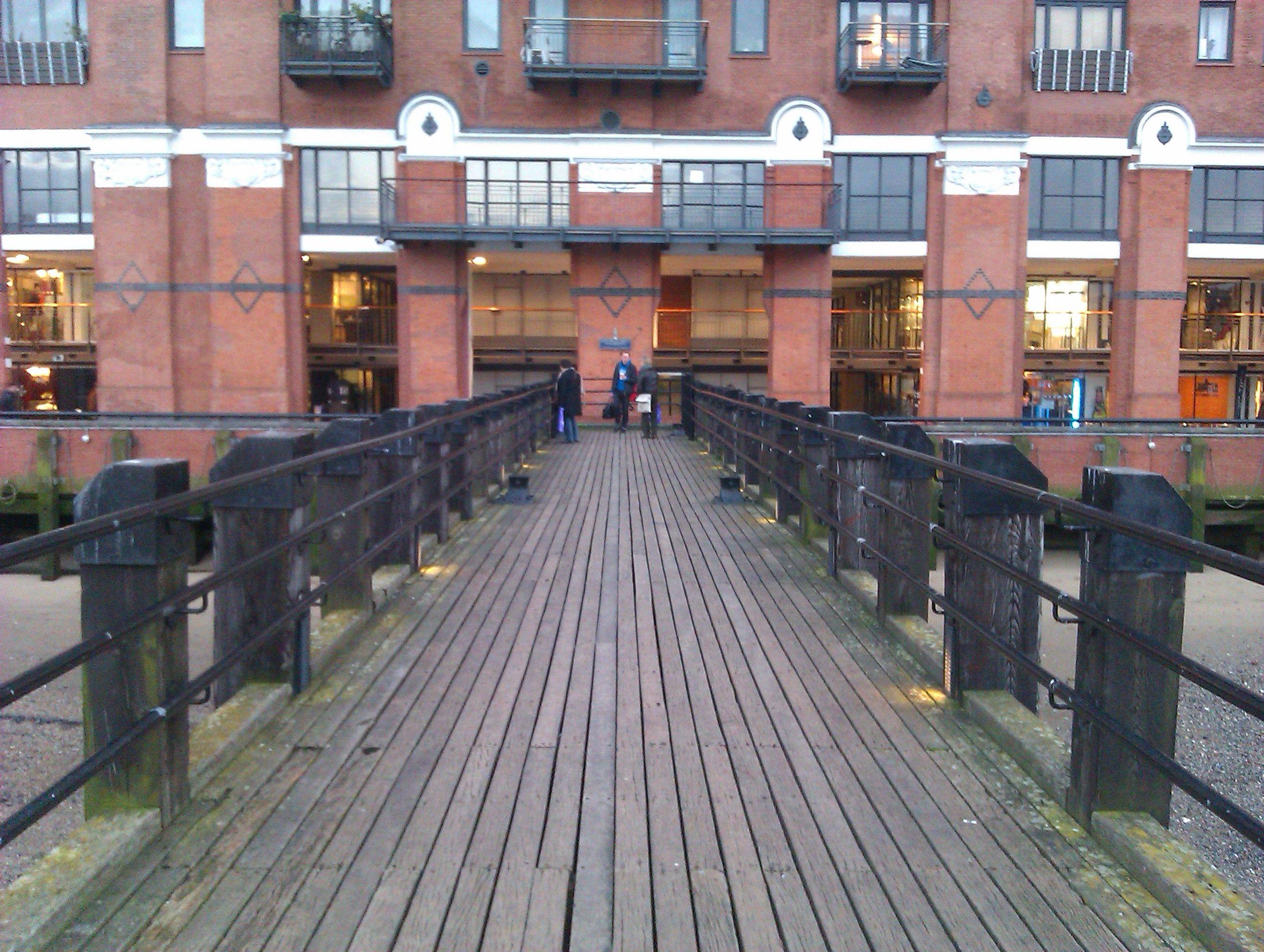 OXO Building pier