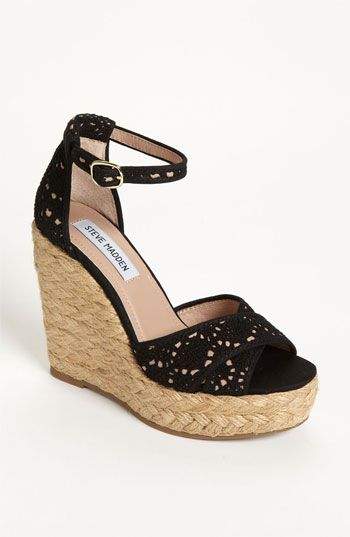 f2fbab7b190 Steve Madden 'Marrvil' Wedge available at #Nordstrom | Style in 2019 ...