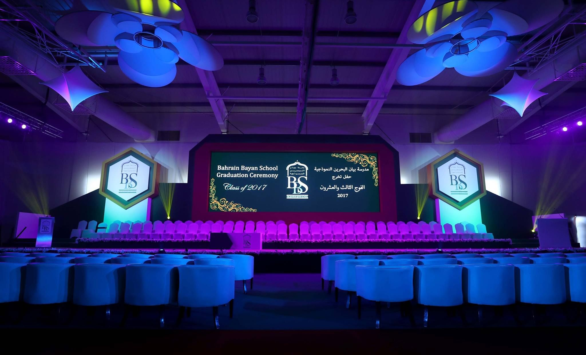 Pico Delivered A Majestic Graduation Ceremony For Bahrain Bayan School Pico Graduation Ceremony Bahra Event Marketing Marketing Case Study Event Organiser